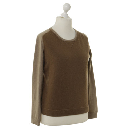 Rochas Pullover in Brown and beige