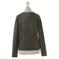 Allude Cardigan with metallic moments