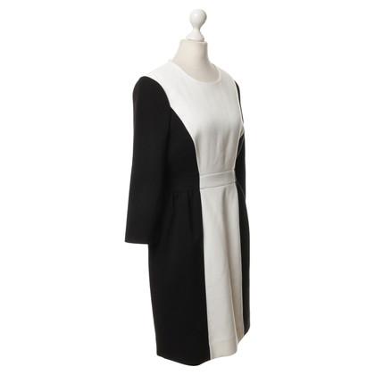 Kate Spade Kleid in Schwarz-Weiß