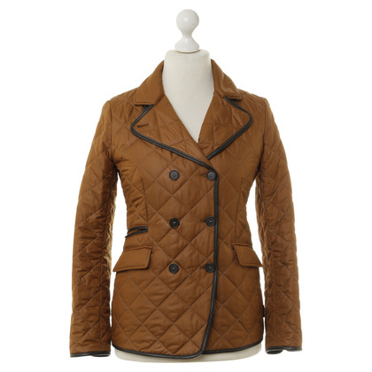 Mabrun Quilted Jacket in ochre