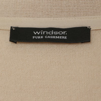Windsor Cashmere Cardigan in Nudefarben