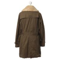 Closed Coat with Sheepskin