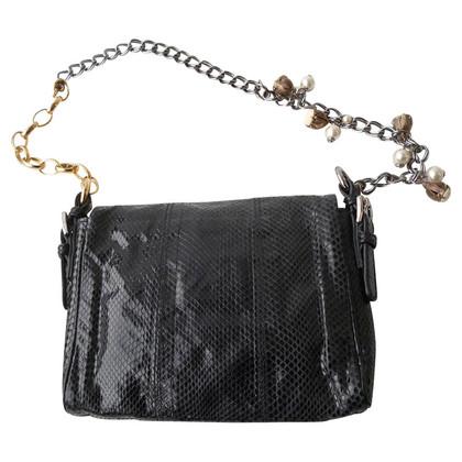 Dolce & Gabbana clutch reptile leather