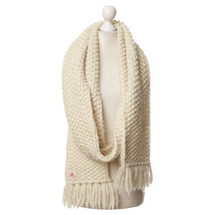 Lala Berlin Scarf in white