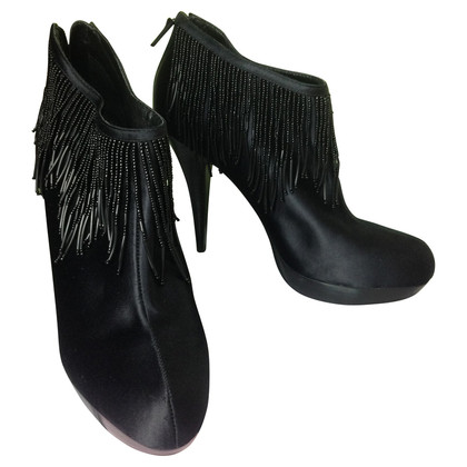 BCBG Max Azria Ankle boots with fringe