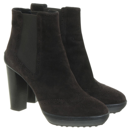 Tod's Ankle boots in dark brown