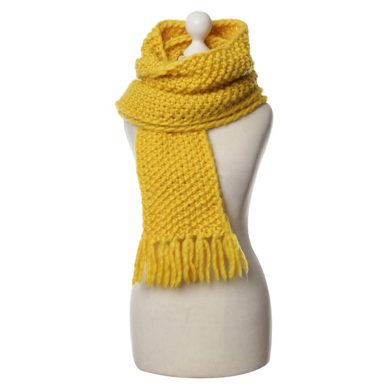 Lala Berlin Scarf yellow