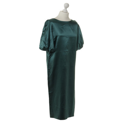Dries van Noten Satin dress in green