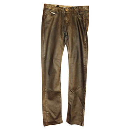 Faith Connexion Jeans im Metallic-Look