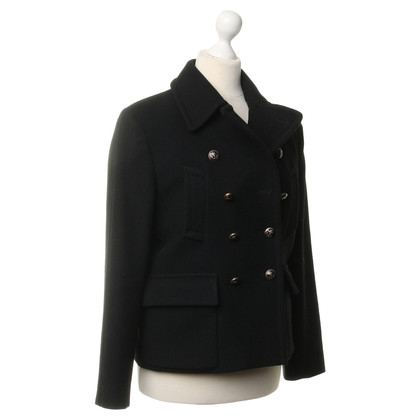 Jean Paul Gaultier Caban jacket in black