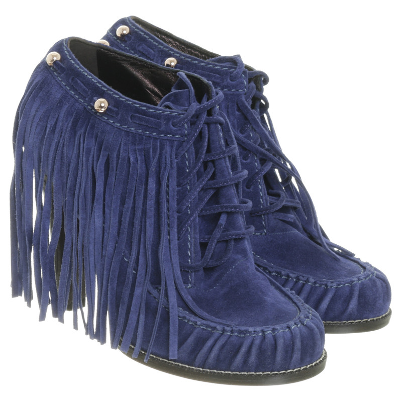 Mulberry Ankle boots with fringe