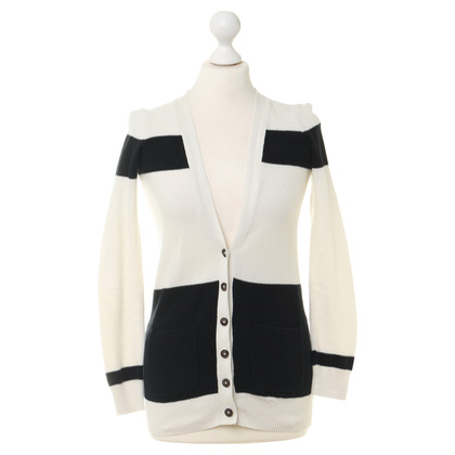 Madewell Cardigan in black and white