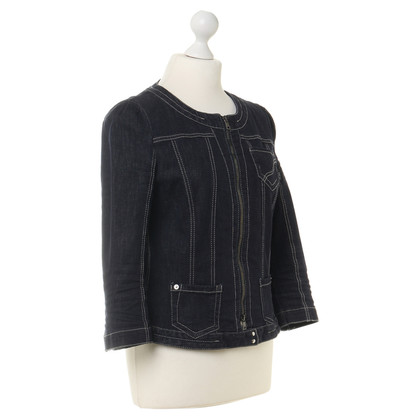 Marc Cain Denim jacket with decorative stitching
