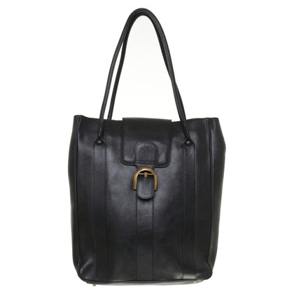 Delvaux Tote Bag in Schwarz