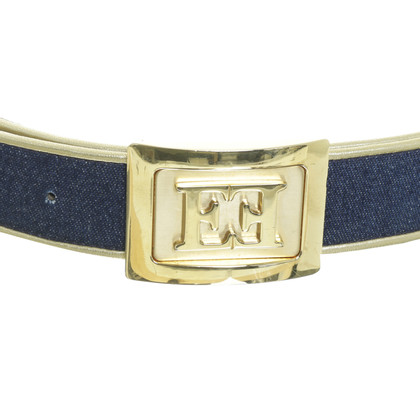 Escada  Belt in Denimoptik