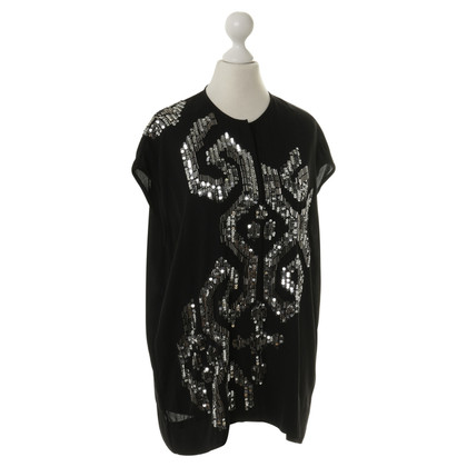 By Malene Birger Top met pailletten