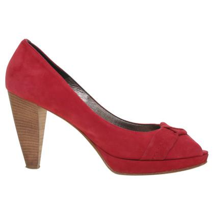 Laurèl Peep-dita dei piedi in rosso lampone