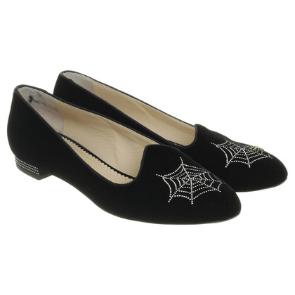 Charlotte Olympia Ballerina with Spider application