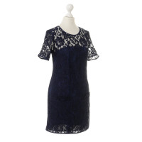 French Connection Lace dress in blue