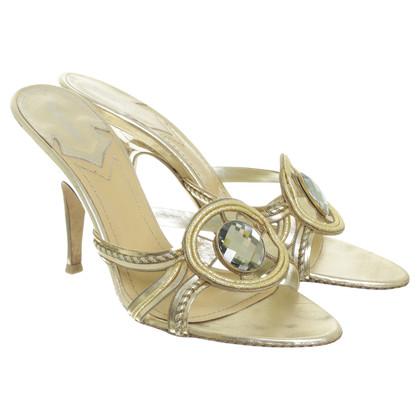 Baldinini Sandalen in goud