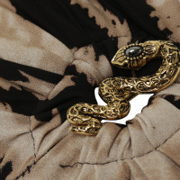 Roberto Cavalli top with snakes-detail