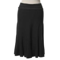 Alaïa skirt in dark grey