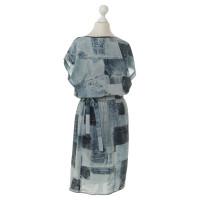 Other Designer Emma Cook - jeans-print dress