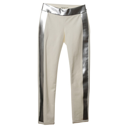 Les Chiffoniers Pants with metallic strips