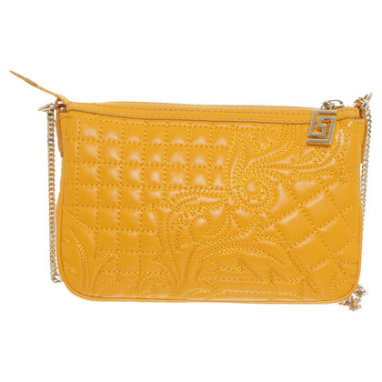 Gianni Versace Shoulder bag with embroidery