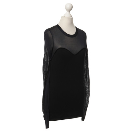 Isabel Marant top in black and dark blue