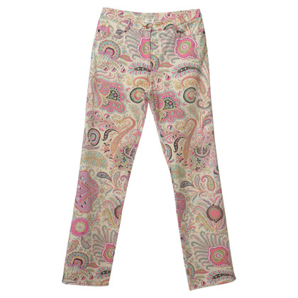 Etro Pants with a floral pattern