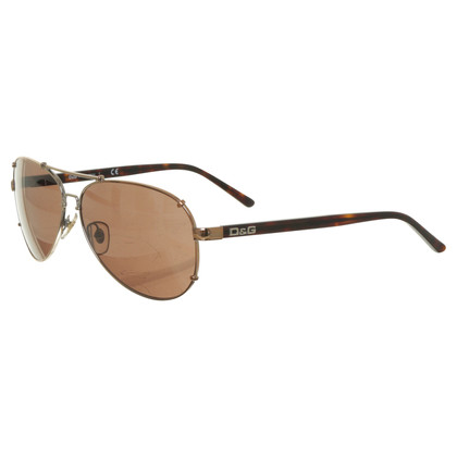 Dolce & Gabbana Sonnenbrille im Piloten-Stil