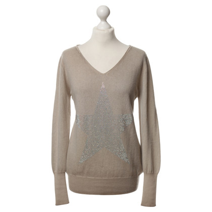 Camouflage Couture Cashmere sweater with Rhinestone