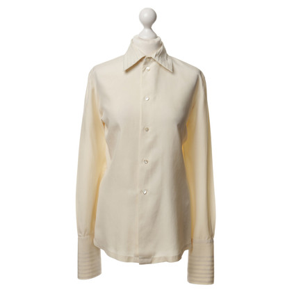 Equipment Blusa in seta in crema
