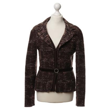 Bruno Manetti Jacket with velvet details