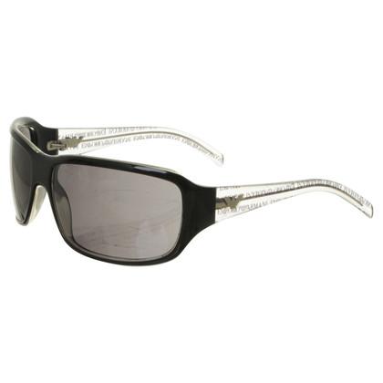 Giorgio Armani Sonnenbrille in Schwarz