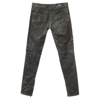 Camouflage Couture Jeans with patterns
