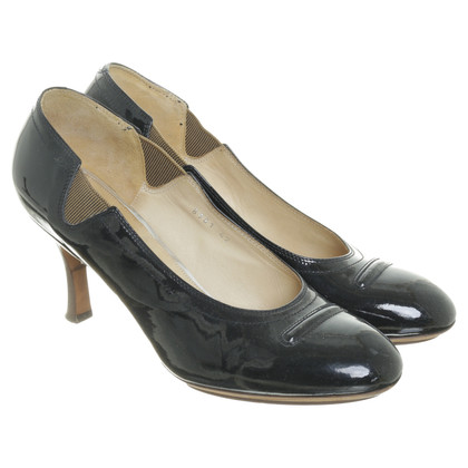 Dries van Noten pumps lakleder