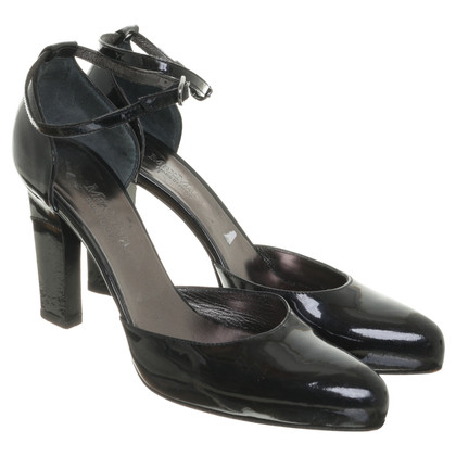 Max Mara Slingbacks patent leather