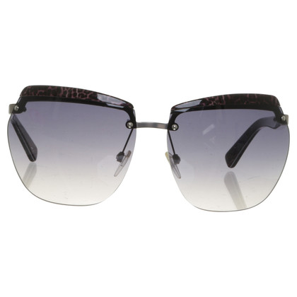 Just Cavalli Sunglasses with Leopard-detail