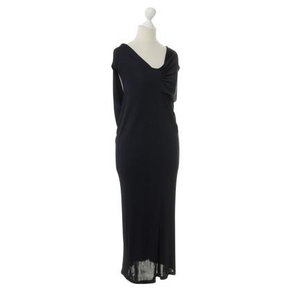 Jil Sander Blue dress with ruffle