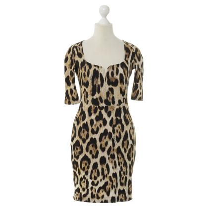 Just Cavalli Dress with Leopard pattern