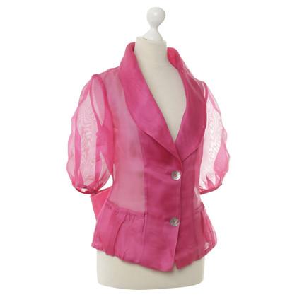 Armani Collezioni Blazer in Pink