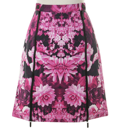Michael Kors Zipp er flower skirt