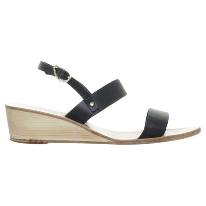 Ancient Greek Sandals Sandali in Midnight Blue