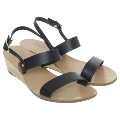 Ancient Greek Sandals Sandals in Midnight Blue