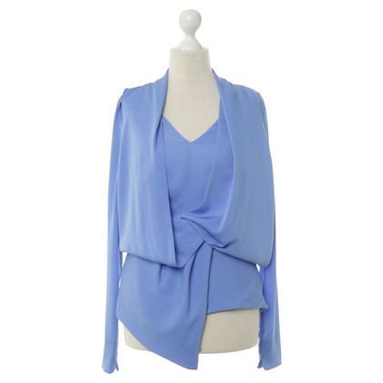 Vionnet top in blue