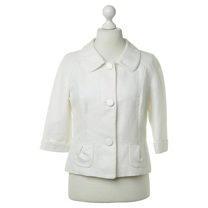 Laurèl Jacket in white