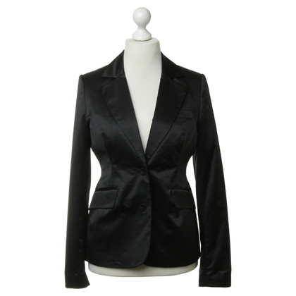 Gestuz Black satin Blazer