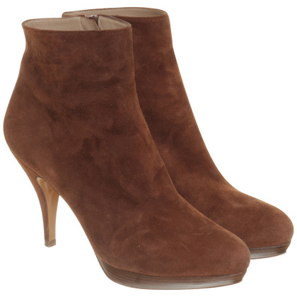 Pura Lopez Ankle boots suede